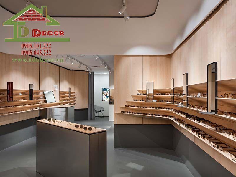 Thiết kế cửa hàng mắt kính anh Bằng Phú Nhuận