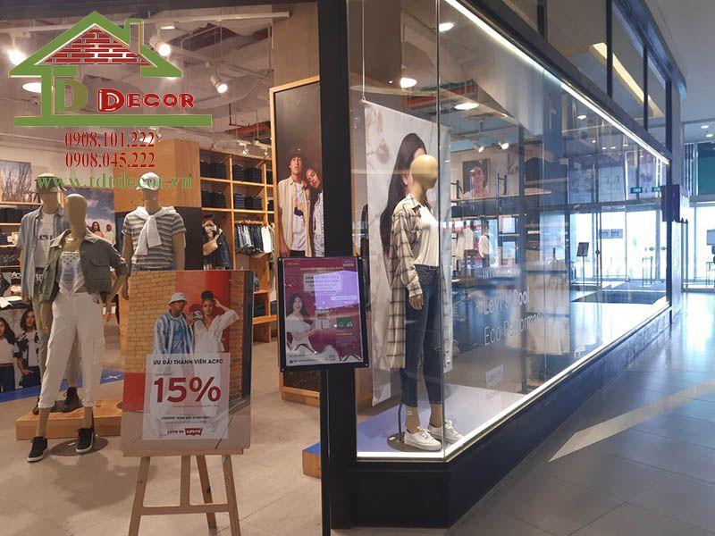 Thiết kế shop thời trang anh Tiến Tân Phú