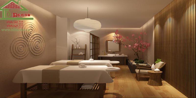 thiết kế spa