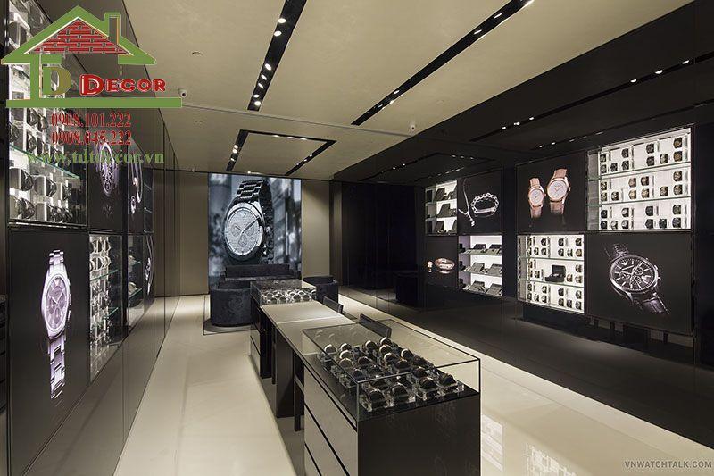 Thiết kế cửa hàng đồng hồ chị An – Hooc Mon