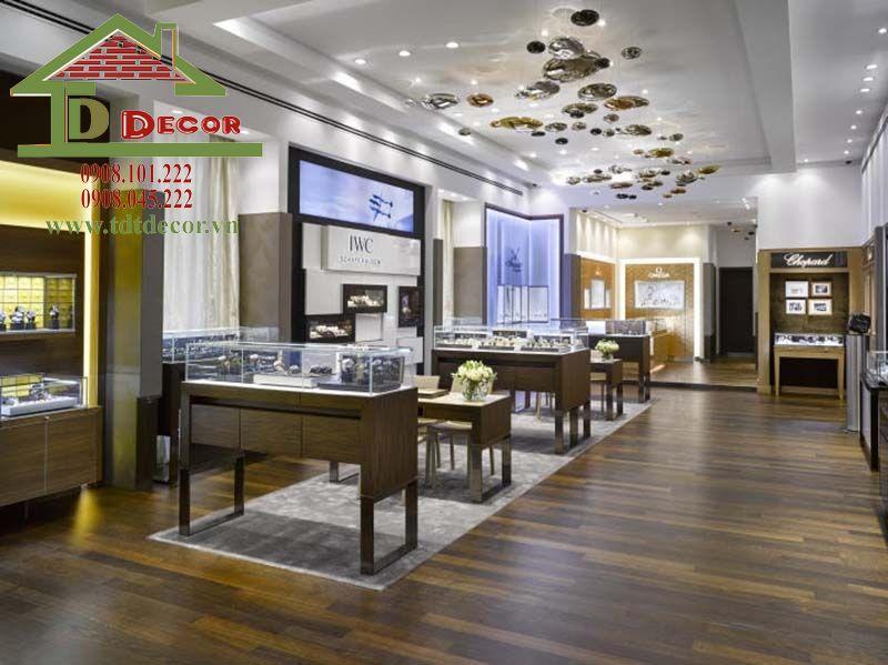 Thiết kế cửa hàng đồng hồ chị Lan Bình Dương