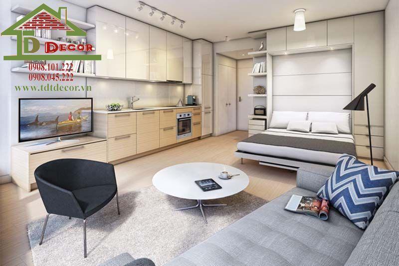Thiết kế nội thất chung cư Topaz Garden anh Kiệt Tân Phú
