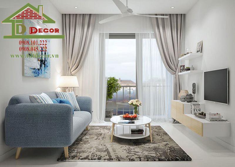 Thiết kế nội thất chung cư Central Garden anh Bửu quận 1