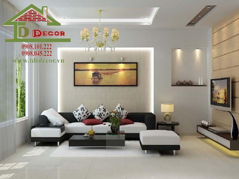 Thiết kế nội thất chung cư Hóa An chị Phương Đồng Nai