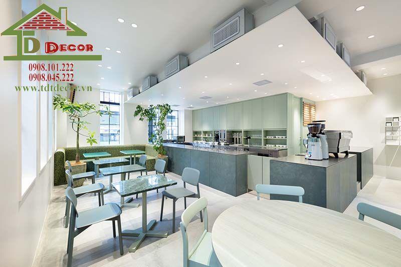 Thiết kế quán cafe anh Đông Bình Chánh