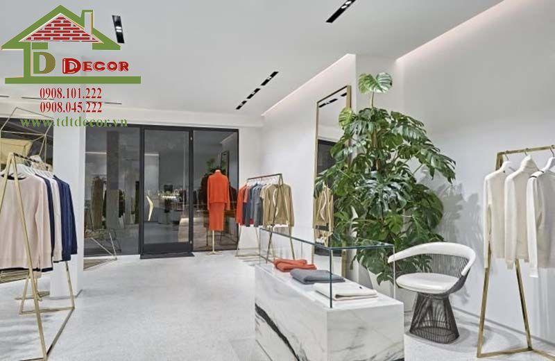 Thiết kế shop thời trang chị Nhung quận 1