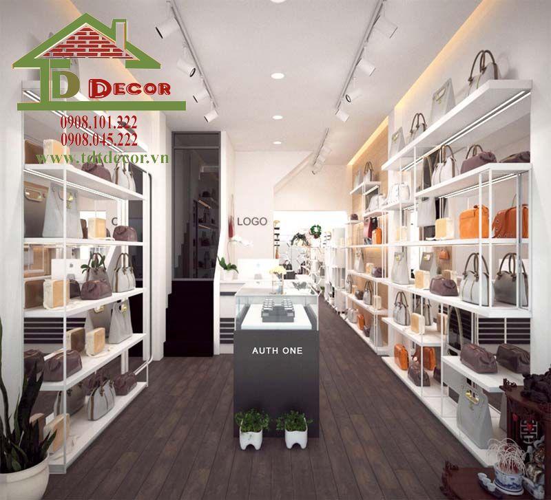 Thiết kế shop túi xách chị Quý quận 10