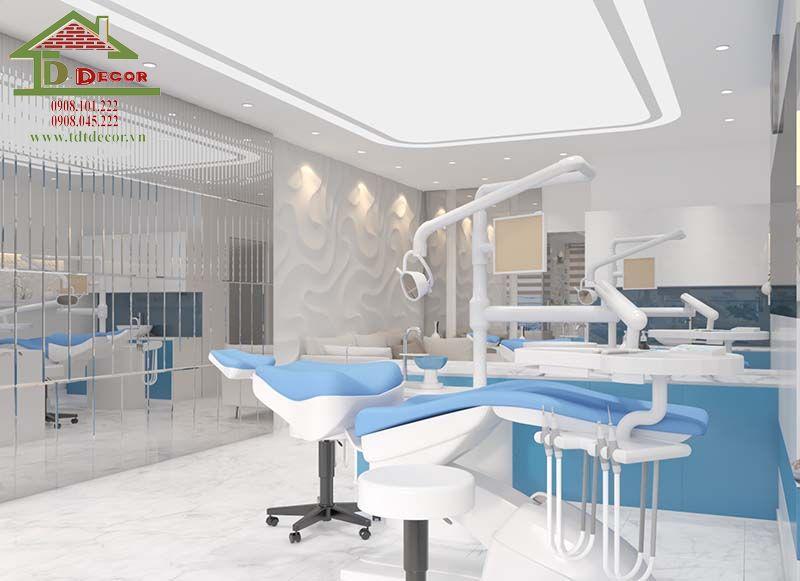 Thiết kế phòng khám nha khoa chị Hoài quận Bình Thạnh