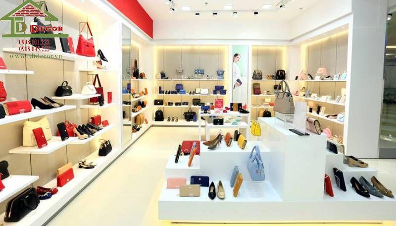 Thiết kế showroom giày dép anh Diệm quận Gò Vấp