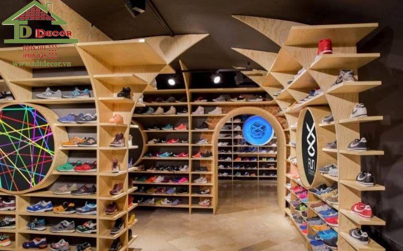 Thiết kế shop giày dép chị Hường Quận Phú Nhuận
