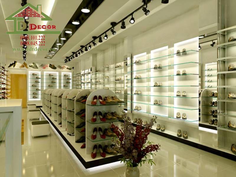 Thiết kế shop giày dép chị Ly quận Tân Bình