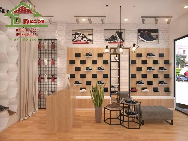Thiết kế showroom giày dép chị Nguyệt tại quận 9