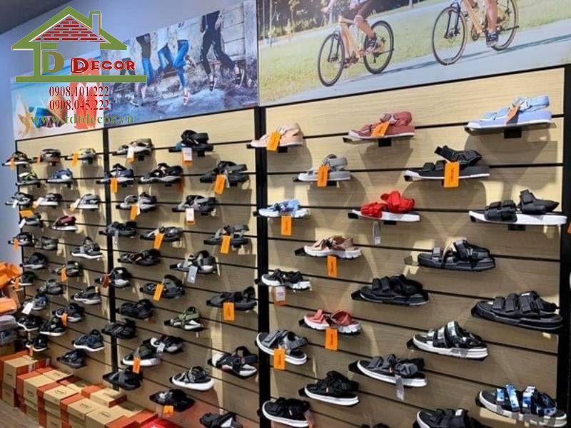 Thiết kế thi công shop giày dép chị Thúy quận 2