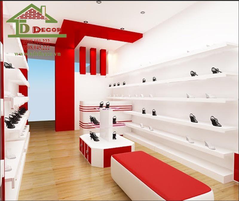 Thiết kế cửa hàng giày dép chị Yến Vĩnh Long