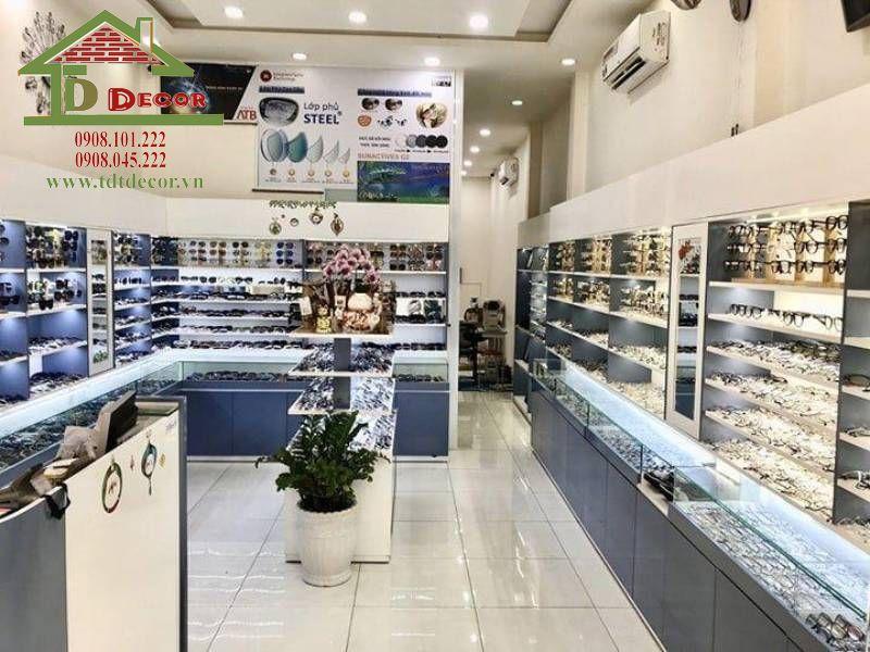 Thiết kế shop mắt kính anh Phi quận 1