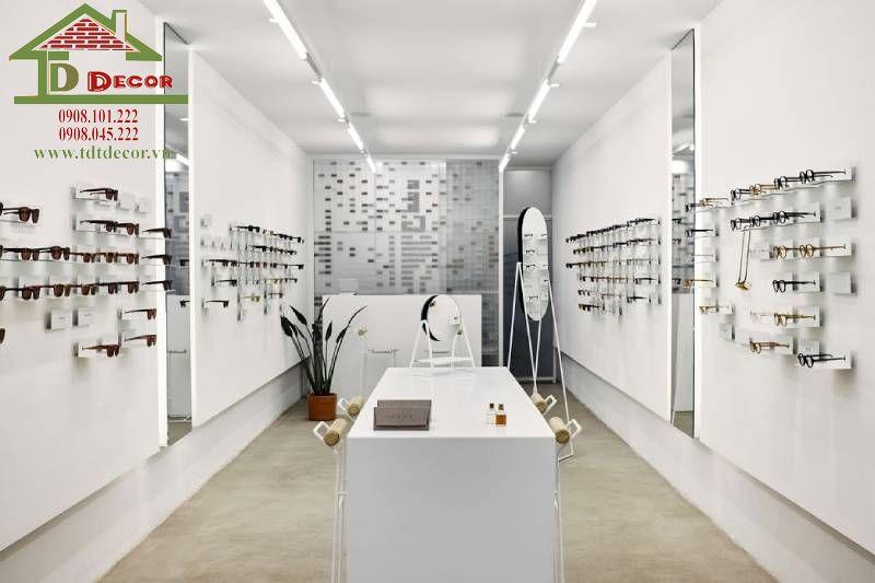 Thiết kế shop mắt kính chị Ánh Hoocmon