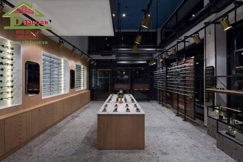 Thiết kế shop mắt kính chị Diệu quận 5
