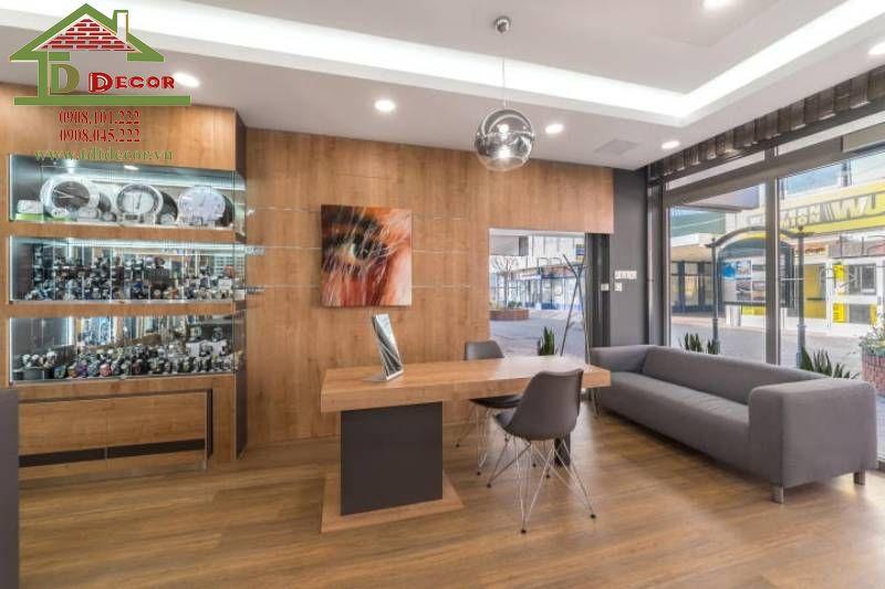 Thiết kế cửa hàng mắt kính chị Trâm Bình Thạnh
