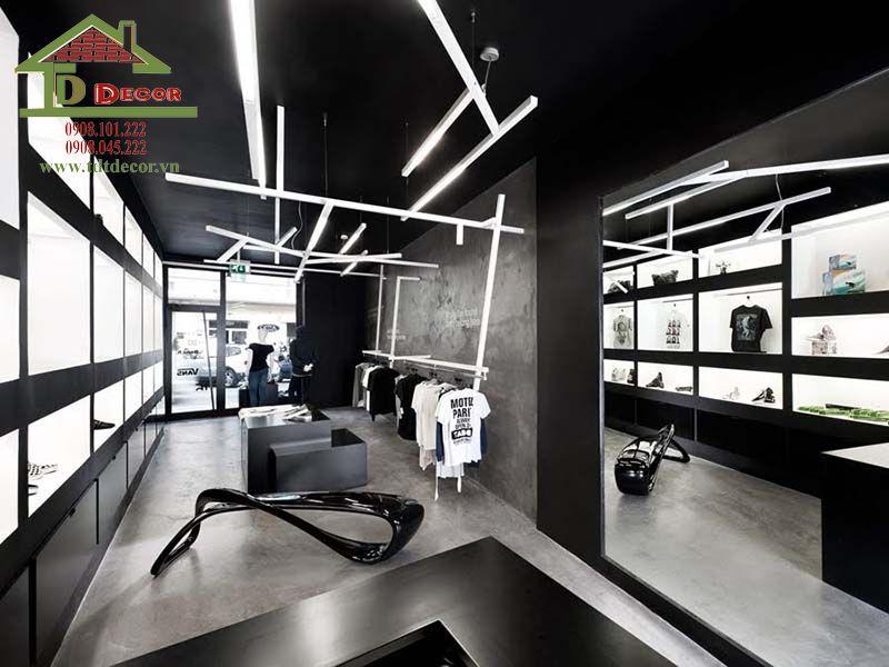 Thiết kế thi công shop thời trang anh Tâm quận Tân Phú