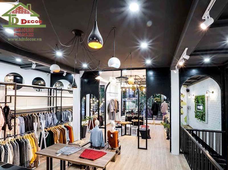 Thiết kế thi công shop thời trang chị Chi Phú Nhuận