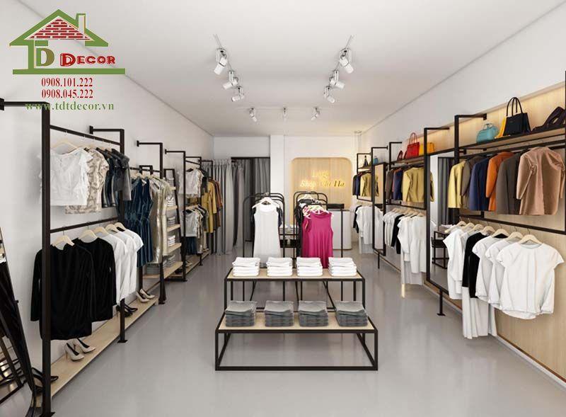 Thiết kế thi công shop thời trang chị Hiền quận 5