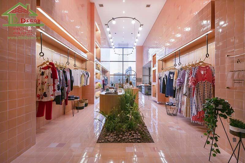 Thiết kế shop thời trang chị Quỳnh quận 1