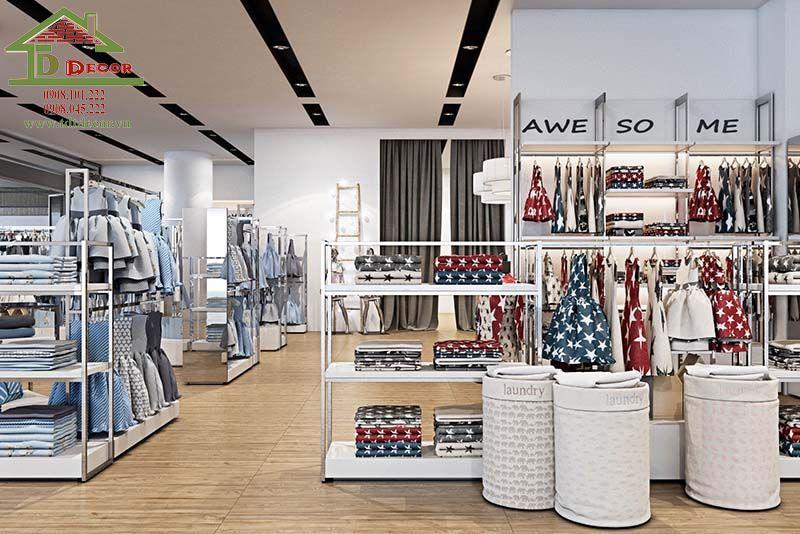 Thiết kế shop thời trang chị Thảo tại Đồng Nai
