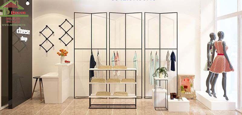 Thiết kế shop thời trang chị Thu Bình Dương