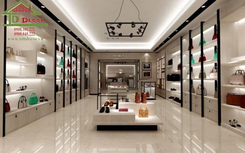 Thiết kế thi công shop túi xách anh Thao quận Tân Phú