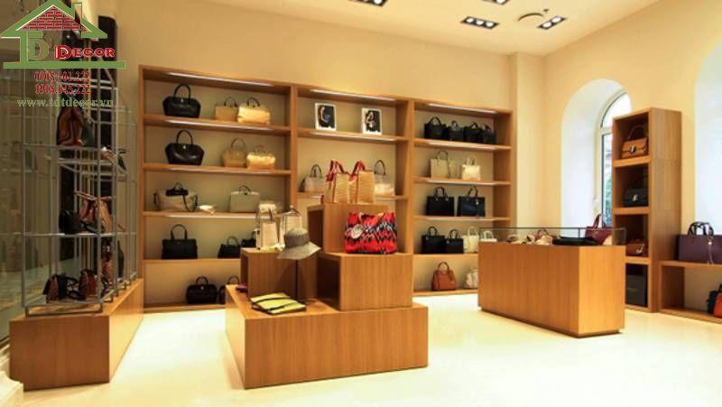 Thiết kế thi công shop túi xách chị Oanh quận 7