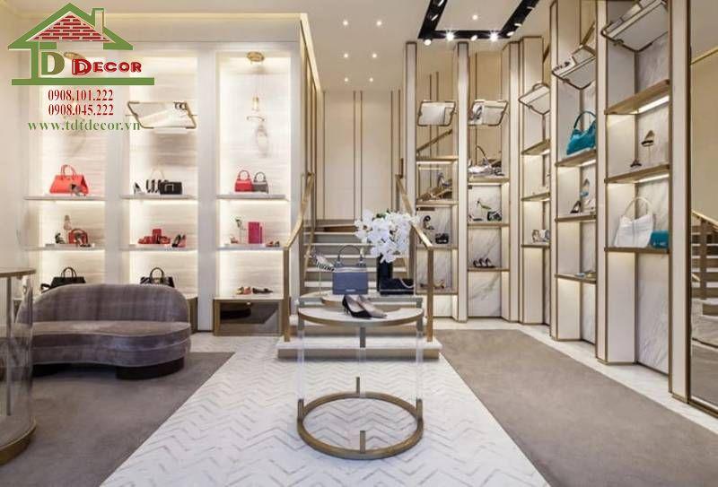 Thiết kế shop túi xách chị Vân quận 5