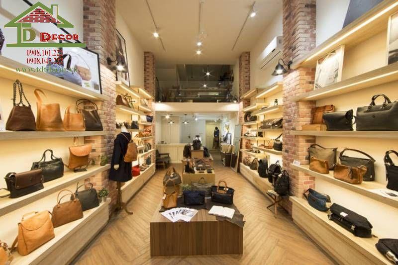 Thiết kế shop túi xách chị Ý quận Bình Thạnh