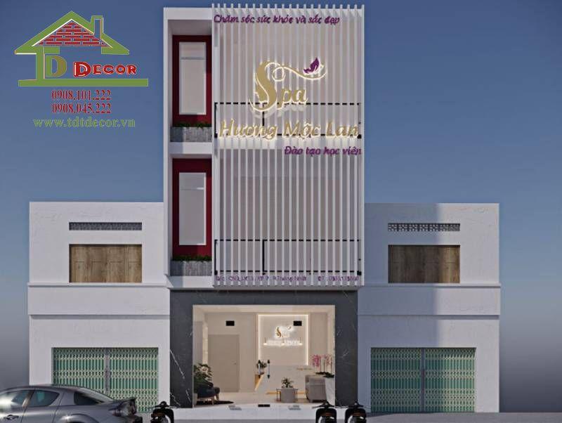Thiết kế spa anh Cao quận Tân Phú