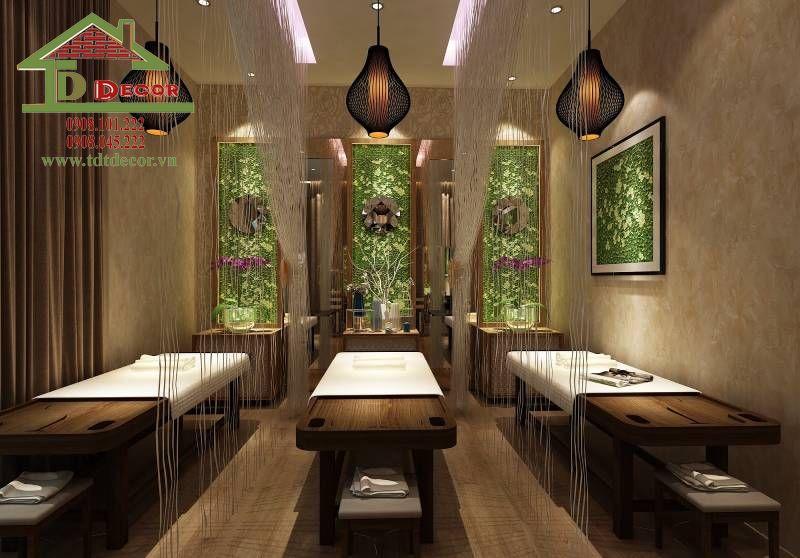 Dự án thiết kế spa chị Liên quận Bình Tân