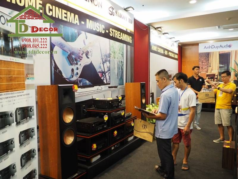 Thiết kế showroom loa anh Duy quận 8