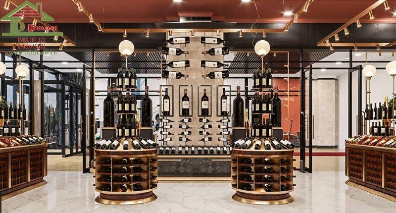 Thiết kế shop rượu chị Hằng tại Lâm Đồng