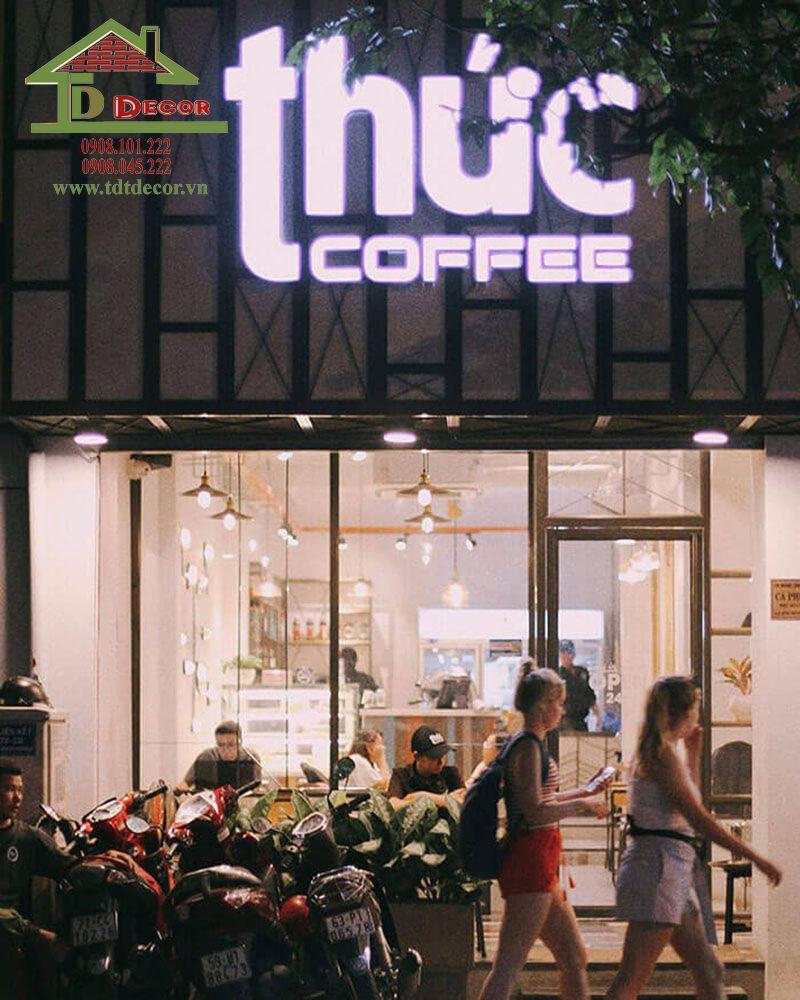 tên quán cafe hay