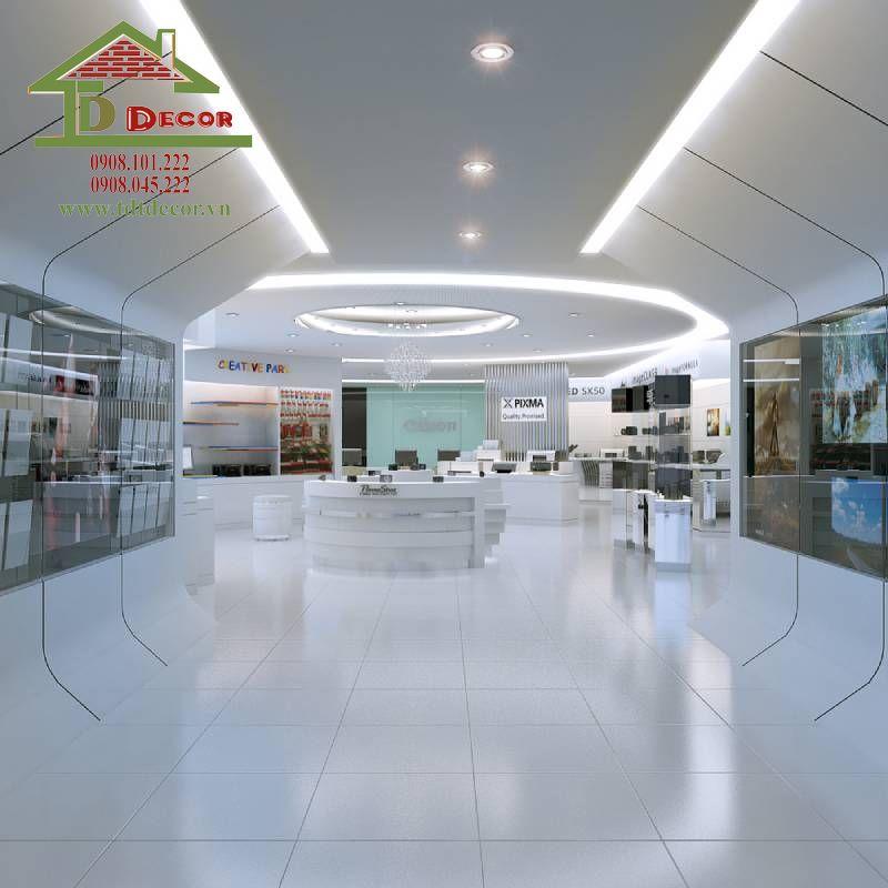 Thiết kế cửa hàng điện máy anh Vương quận Tân Phú