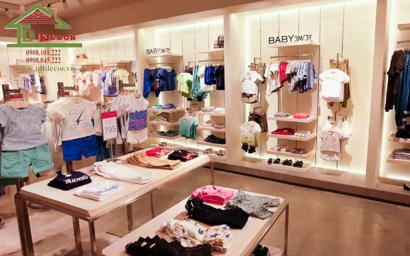 Thiết kế cửa hàng mẹ và bé anh Phi quận Tân Phú
