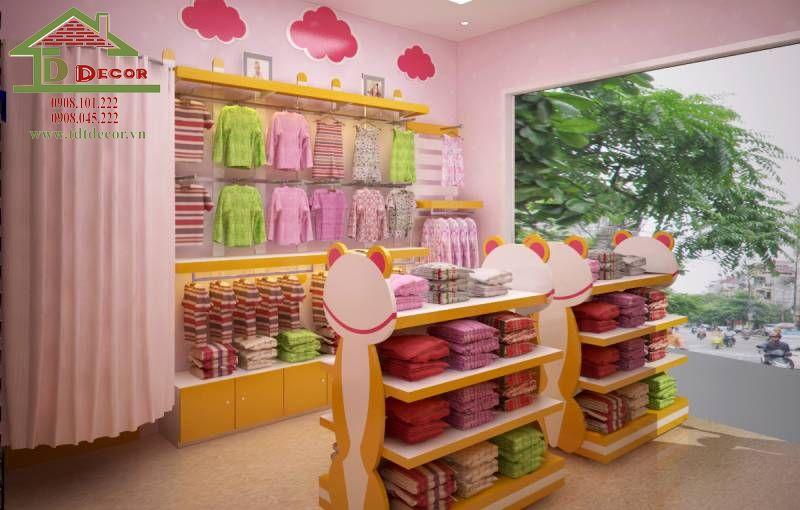Thiết kế shop mẹ và bé chị Linh quận Gò Vấp
