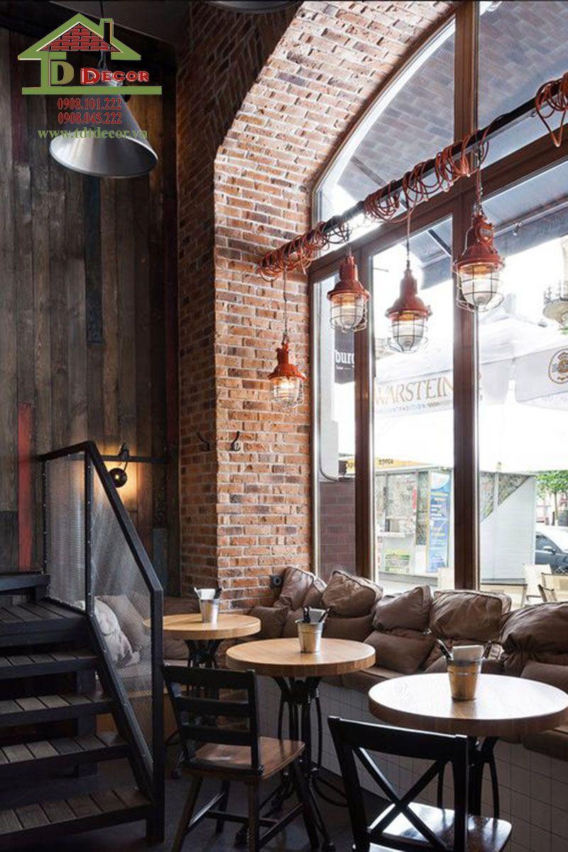 Thiết kế quán cafe 5x20m