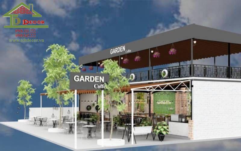 Thiết kế quán cafe anh Khôi tại Cần Thơ