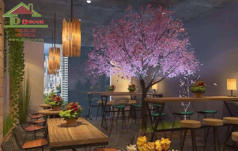 Thiết kế quán cafe anh Trường quận Tân Phú