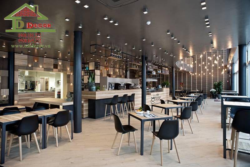 Thi công thiết kế quán cafe chị Kiều tại Bình Dương