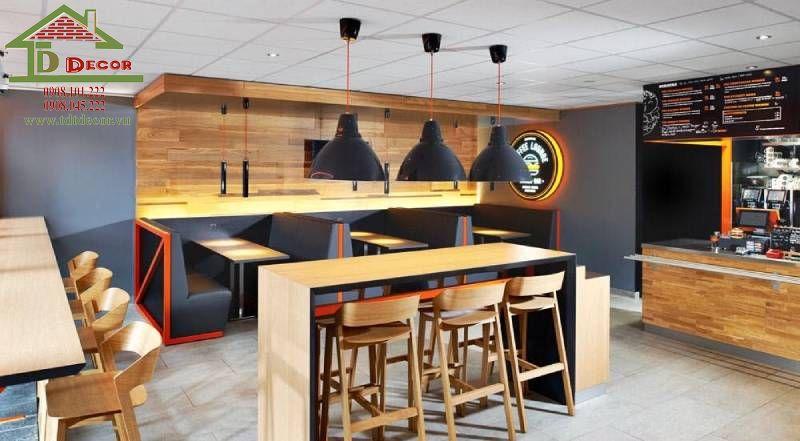 Thiết kế thi công quán cafe chị Ngọc tại Củ Chi