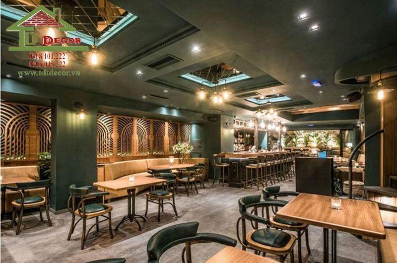 Top 10 mẫu thiết kế quán cafe phong cách vintage hút khách