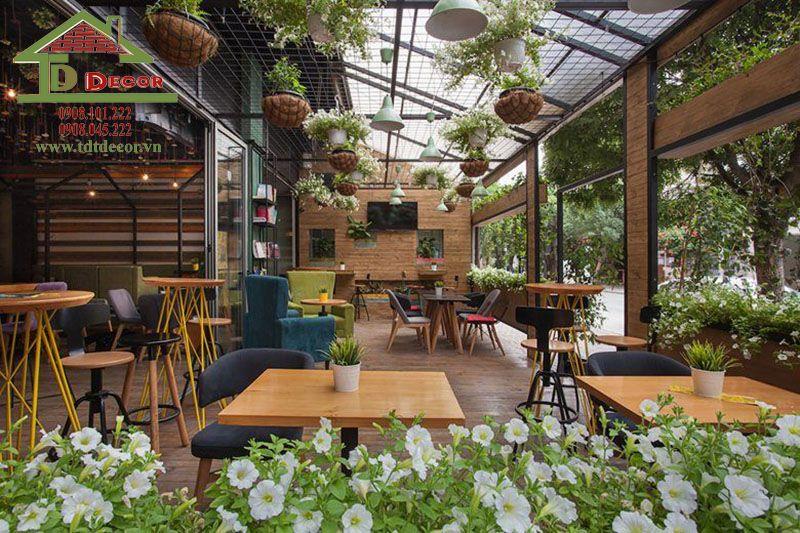 15 Ý tưởng thiết kế quán cafe sân vườn với vẻ đẹp hiện đại đầy mới lạ