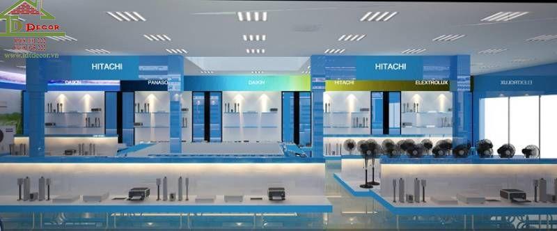 Thiết kế cửa hàng điện máy chị Diệp quận 4
