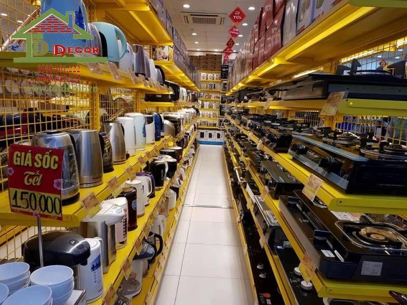 Thiết kế cửa hàng điện máy chị Mỹ tại Tây Ninh
