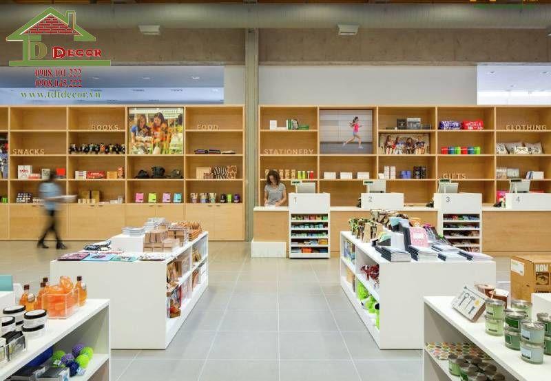 Thiết kế cửa hàng văn phòng phẩm chị Hà quận 7
